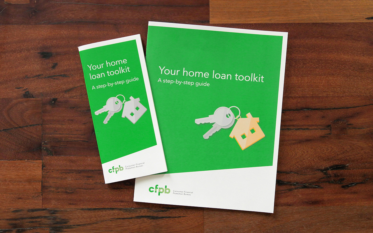 The new booklet from CFPB was designed in two sizes.